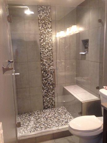 Completed Shower door in Denver, Colorado