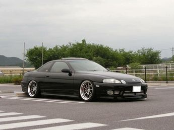 Lexus #SC300 #SC400 #Modified #Stance #Slammed