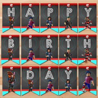 Roblox Happy Birthday Banner