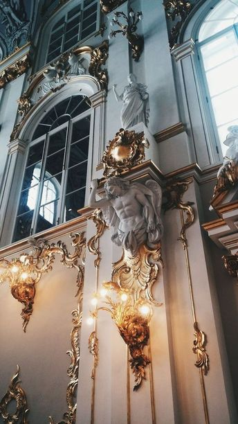 Jordan Staircase of the Winter Palace at Hermitage museum, Saint Petersburg, Russia