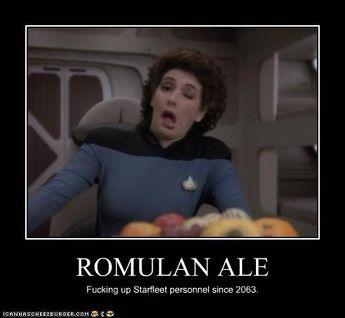 mocking Star Trek ship movements