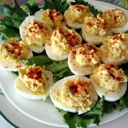 Love deviled eggs...gotta try this recipe especially for the holidays.