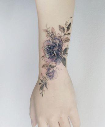 cool Flower # rose # rosetattoo # roseflower # tatouage # fleur # flowerart # flowertattoo # co ...