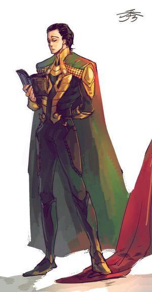 A Lovely Mycroft/Moriarty/Loki rendering of   er, Loki :D