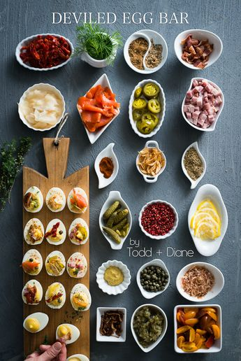 Todd and Diane's Deviled Egg Bar