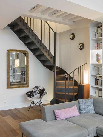 Un appartement parisien rénové par une architecte