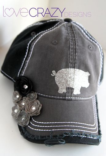 Cute show pig cap!