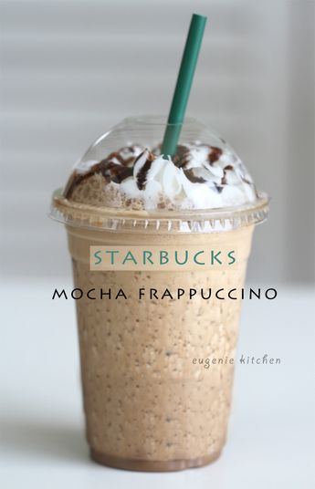 How To Make Starbucks Mocha Frappuccino at Home [Copycat