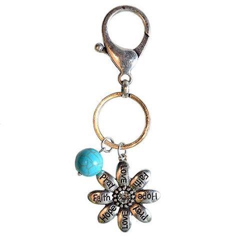 Faith Gear Women's Keychain - Flowers