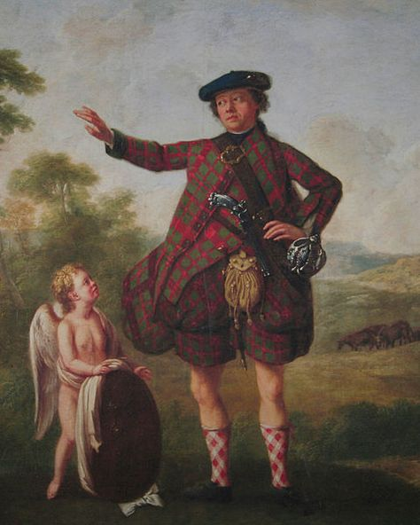 Dr. Sir Stuart Threipland, of Fingask (1716-1805), physician to Bonnie Prince Charlie during the Jacobite rising of 1745, and President of the Royal Medical Society from 1766-1770 - William Delacour, Artist
