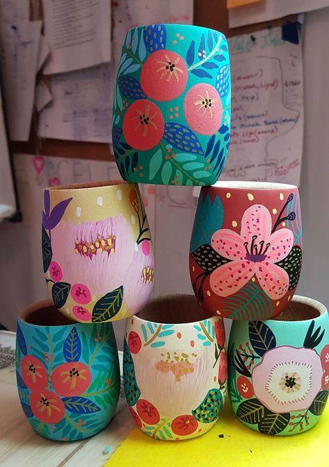 floral mugs #juanitalaprida
