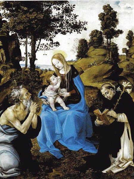 La Madonna. E molti dipinti sulla Natività da Samael. 0158e8975ca331d52b5211a2297d526e