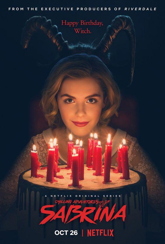 Chilling Adventures of Sabrina bietet ein Poster.