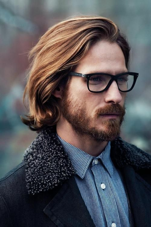 b467401010c5 Cool Hairstyles for Men with Glasses: Ideas and Pictures