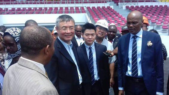 Des députés chinois ont visité le stade Omnisports de Malouzini ce mercredi