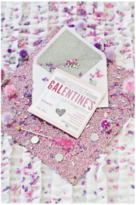 Galentine's day party invitations! We're obsessed.