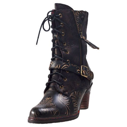 Laura Vita Alizee 11 Womens Boots Black New Shoes