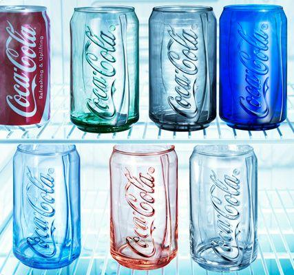 涼しげなコカ・コーラ