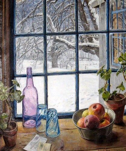 Robert Strong Woodward Зимнее окно
