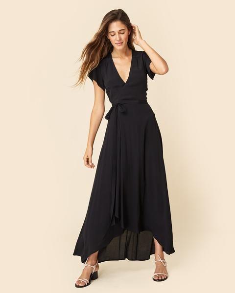 The Autumn Dress | Black