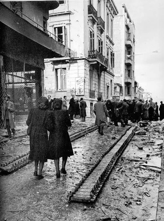 ATHENS, December 1944.