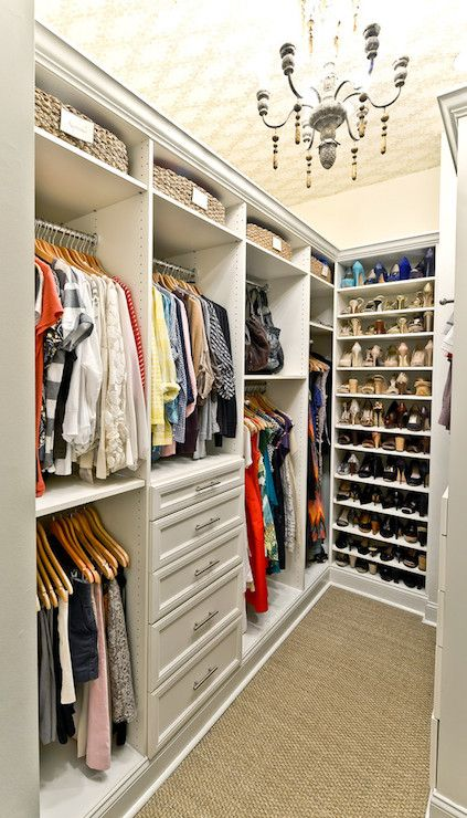 Fashionable Closet Decor