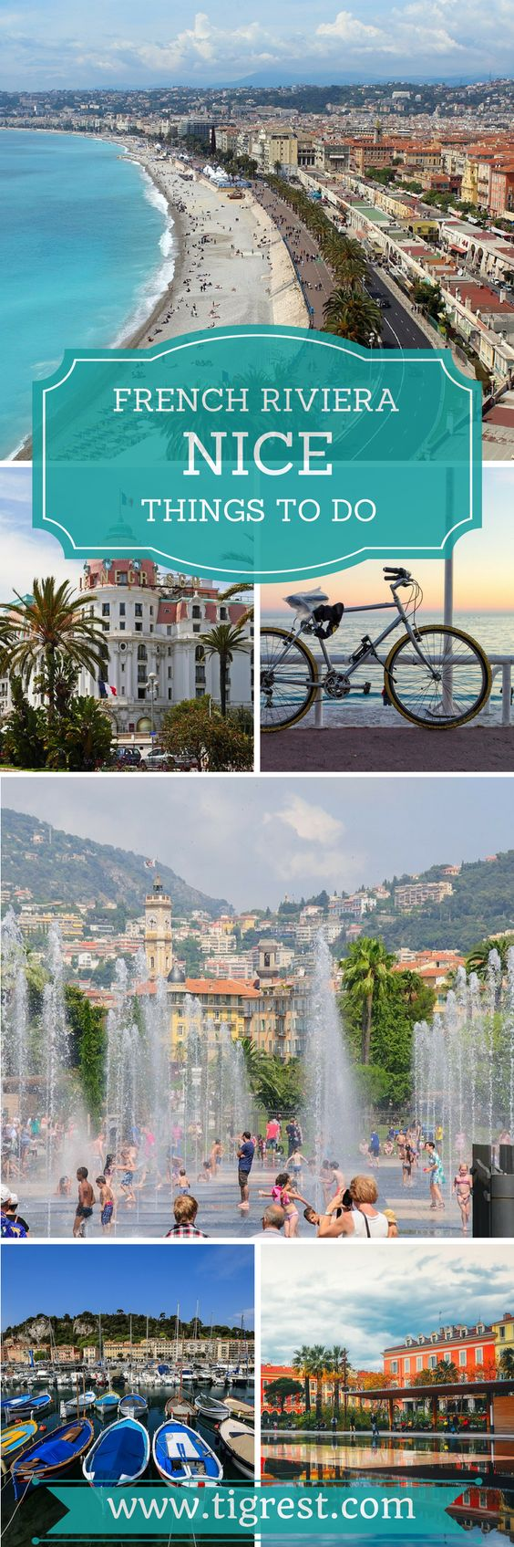 Read about our trip to Nice France. Where to go, what to see and how to spend an unforgettable day in French Riviera