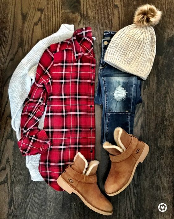 Outfit para combinar ancle boots