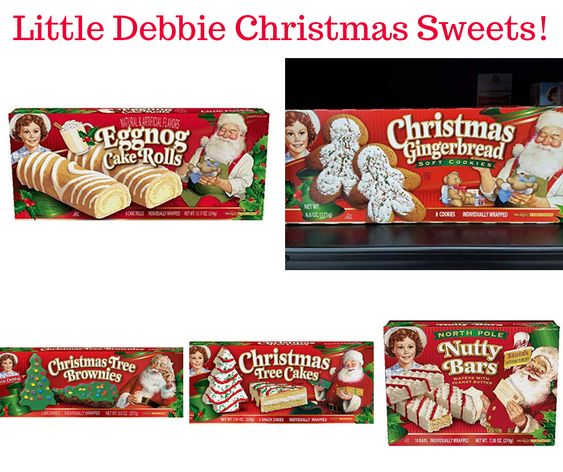 Little Debbie Christmas Sweets