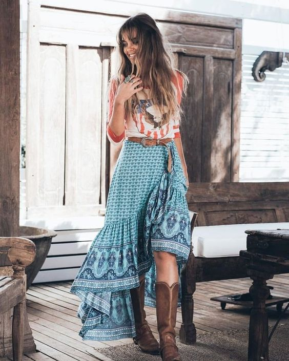 Nice boho outfit for summer