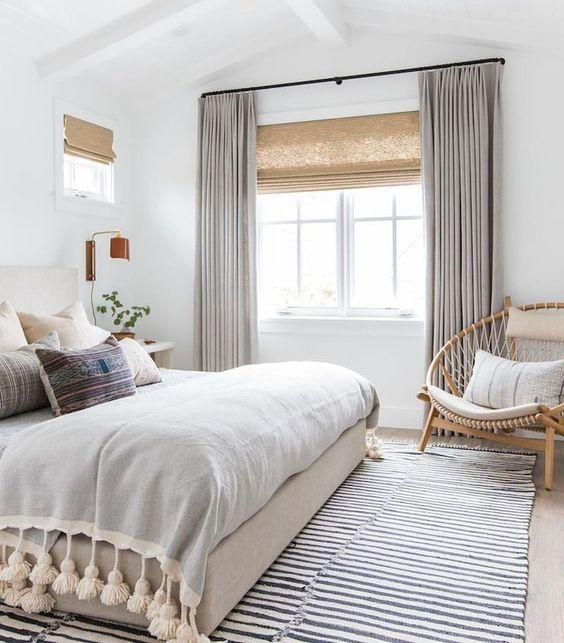 natuurlijke lichte slaapkamer