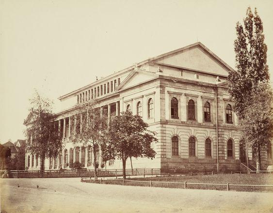 Theatre in Gotha - Empress Alexandra visits in 1840