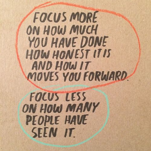 Focus more on how much you have done - 35 motivational quotes to SLAY your goals - OurMindfulLife.com