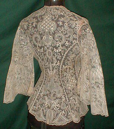 'Boudoir jasje uit 1960