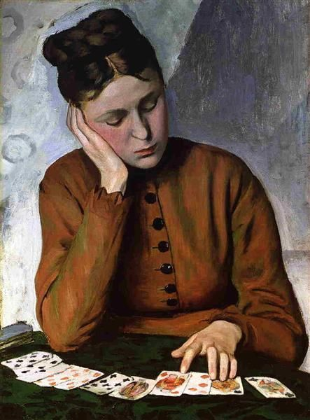 BAZILLE Frédéric - The Fortune Teller - 1869