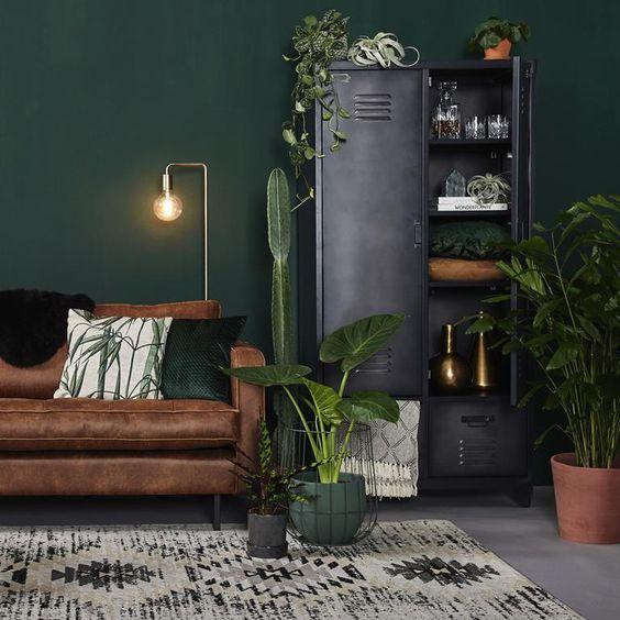 Mua sofa da tphcm phối hợp ăn ý với màu sơn tường