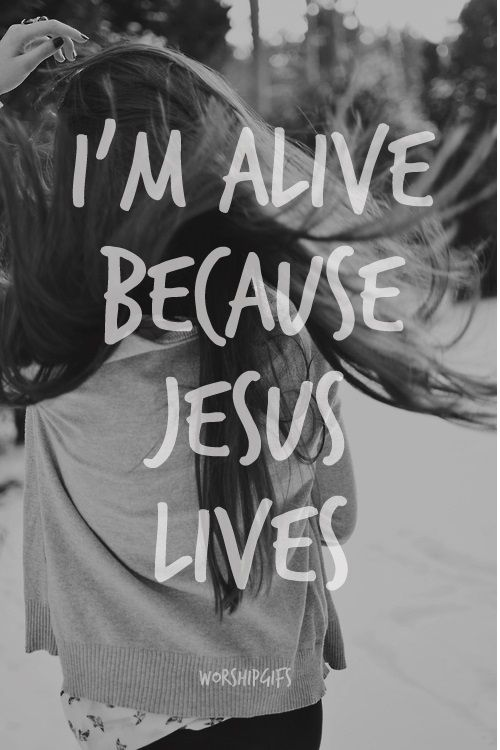 He lives within me