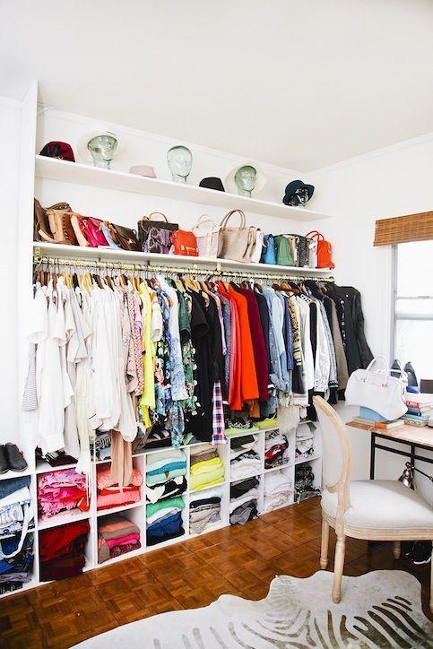 Cool Closet Decor