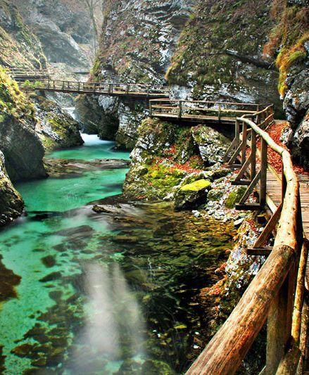 Ущелина Вінтгар, Словенія