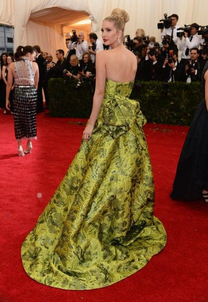 Met Gala 2014: Fug Nation's Best Dressed Ivanka Trump in Oscar de la Renta – Go Fug Yourself