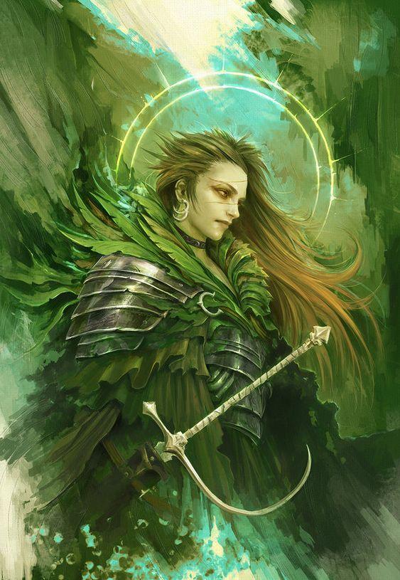 Green Knight Картинки, Арт, Рисунок
