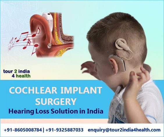cochlear implant surgery in India at low cost at best hospitals and top surgeons in India