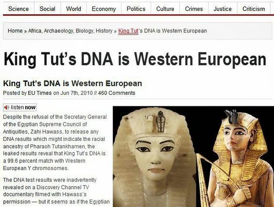 ATLANTEAN GARDENS: Royal Blood: King Tut's DNA Results