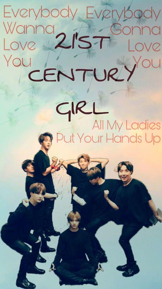 #BTS #21ST #CENTURY #GIRL #BANGTAN