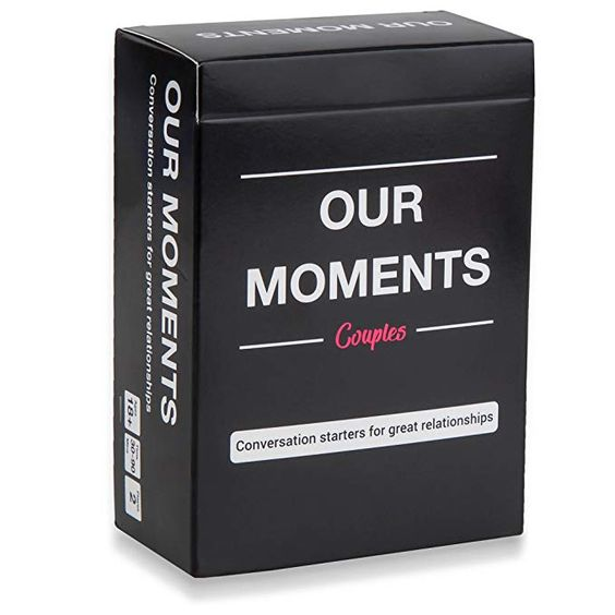 Our moments - conversation starters for couples - cute ldr gifts for him -todaywedate.com