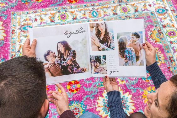 Personalized photo book year in review - 18 best gift ideas for long distance couples - Ourmindfullife.com