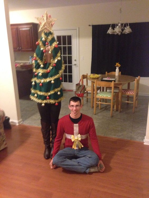 33 Hideous And Fun Christmas Matching Ugly Sweater Ideas For Couples