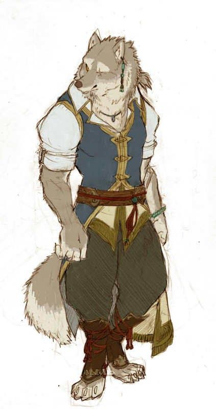 Male: Wolf/ Mercenary