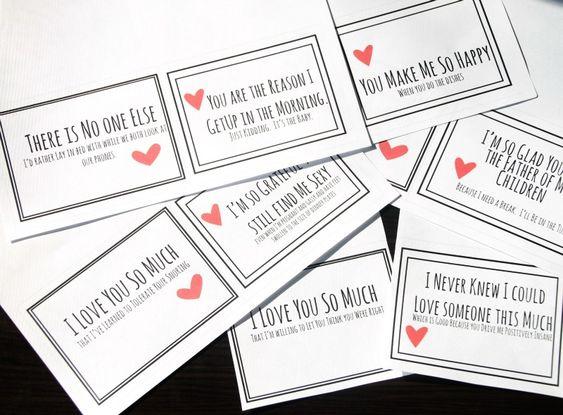 Realistic Valentines free printable