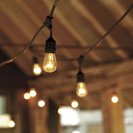 Ballard Designs Vintage String Lights with Bulbs